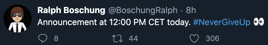 Ralph Boschung Twitter 2021 Suggestion