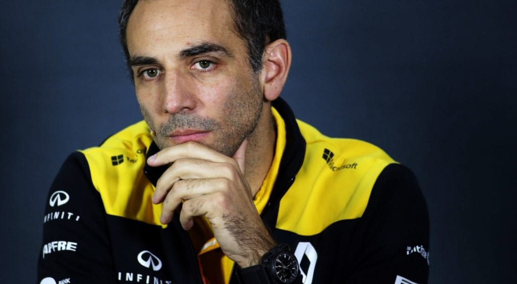 Cyril Abiteboul leaving Renault